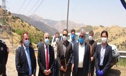 فعالیت مرز شوشمی با حضور فرمانداران  پاوه و حلبچه آغاز شد