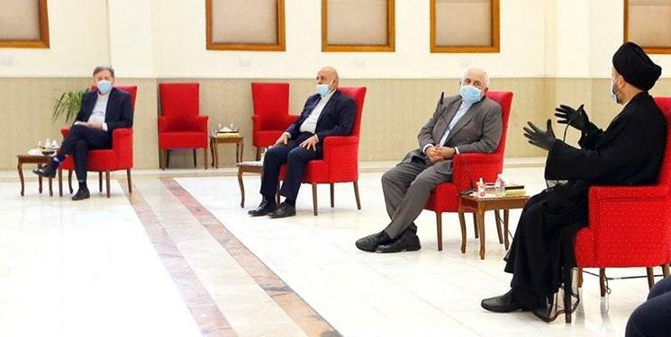 دیدار ظریف با سید عمار الحکیم/ اهتمام ایران برای داشتن روابطی بهتر با عراق