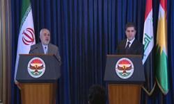 بارزانی در دیدار با ظریف : حمایتهای ایران را فراموش نخواهیم کرد