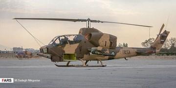 بالگردهای هوانیروز سپاه با موشک و راکت جدید تسلیح شدند+ تصاویر