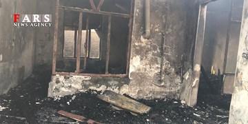 150 دقیقه عملیات نفسگیر اطفاءحریق در بندرگز/ تخریب منزل مجاور برای اطفاء حریق