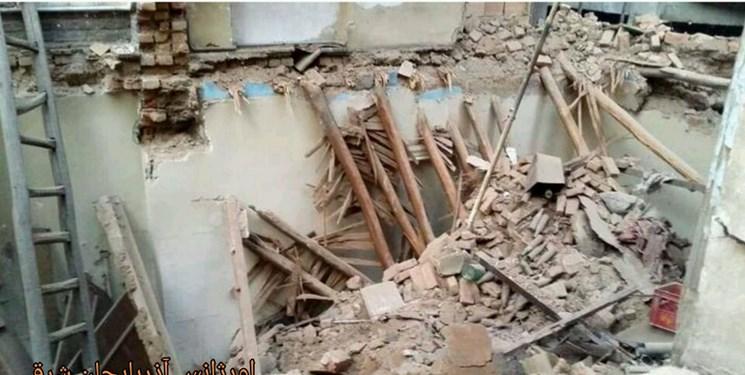 5 کشته و زخمی بر اثر ریزش سقف ساختمانی در باسمنج