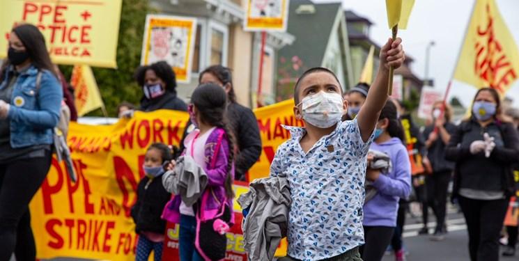 اعتراضات و اعتصابات در اُکلند آمریکا علیه نژادپرستی و نابرابری اقتصادی