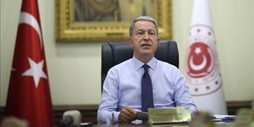 وزیر دفاع ترکیه: ماکرون به تنشهای مدیترانه دامن میزند