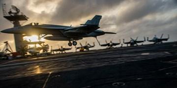 ناو هواپیمابر«یو اس اس آیزنهاور» از دریای عرب خارج شد