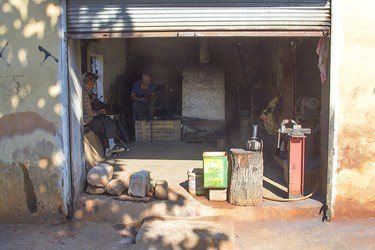 كارگاه ساخت صنايع فلزي
