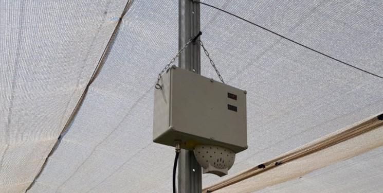 نصب و راه اندازی سامانه هواشناسی هوشمند در ایستگاه تحقیقات انگور تاکستان