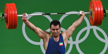 وزنهبرداری قهرمانی آسیا| مرادی در یکضرب دسته 96 کیلوگرم برنز گرفت+عکس