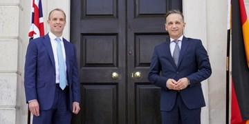 دیدار وزرای خارجه انگلیس و آلمان با محوریت ایران