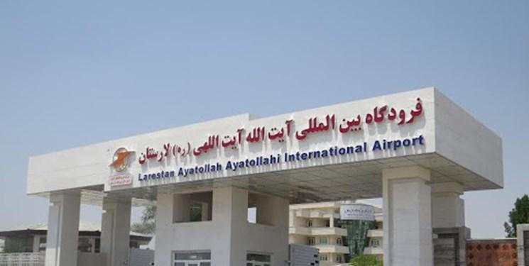 افزایش پروازهای تهران و دبی از فرودگاه لارستان
