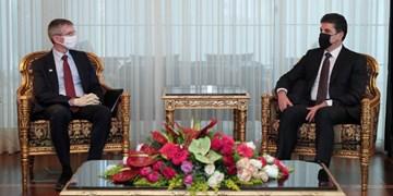 بارزانی: آمریکاییها باید در اقلیم کردستان باقی بمانند