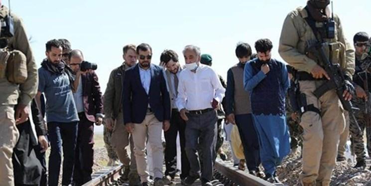 بازدید «هیات مشترک ایران و افغانستان» از روند تکمیل راهآهن هرات_خواف + فیلم