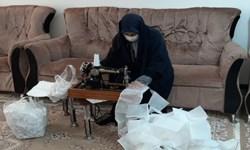 تولید ۵ هزار ماسک توسط گروههای جهادی در روستای «میاندشت» بابلسر+ فیلم و عکس