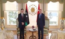رئیس دولت وفاق لیبی با اردوغان دیدار کرد