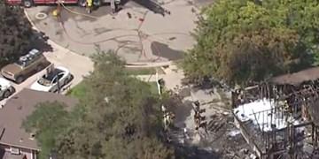 سقوط یک هواپیمای کوچک با 6 سرنشین در ایالت یوتا