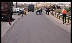 اجرای طرح بهسازی آسفالت تقاطع غیرهمسطح خرمشهر