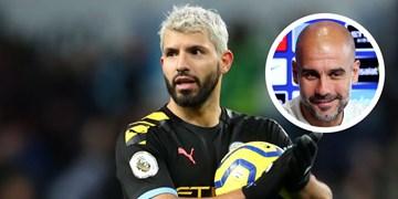 گواردیولا: آگوئرو به بازی با رئال مادرید نمی رسد