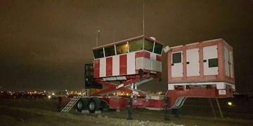 برج مراقبت پرواز سیار توسط وزارت دفاع رونمایی شد