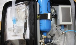 تولید دستگاه تنفس مصنوعی در تاجیکستان