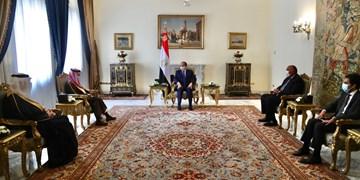 دیدار وزیر خارجه سعودی با رئیسجمهور مصر