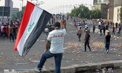 احتمال دست داشتن طرف سوم برای ایجاد آشوب در تظاهرات عراق