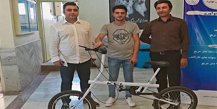 ساخت دو نوع دوچرخه پرطرفدار در مرکز رشد دانشگاه آزاد اردبیل
