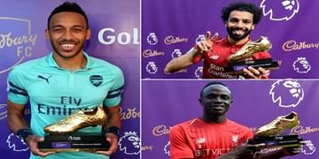 10 برنده کفش طلای اخیر لیگ برتر انگلیس / لیورپول در صدر بهترینها