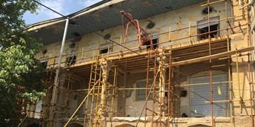 جمعآوری سازۀ الحاقی گراند هتل قزوین در فاز جدید مرمت این بنای تاریخی
