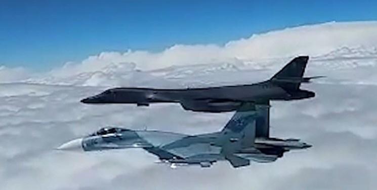 سوخو-27 روسیه هواپیمای «پوسیدان-8» آمریکا را رهگیری کرد