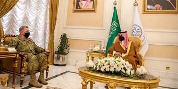 دیدار خالد بنسلمان با رئیس ستاد مشترک ارتش آمریکا