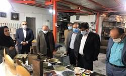 کارگاه تولیدی صنایعدستی آسیب دیده از کرونا تجهیز میشود