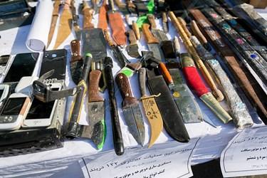 کشفیات طرح رعد ۳۷ در ستاد فرماندهی نیروی انتظامی تهران