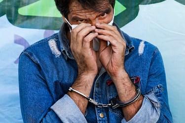 متهم دستگیر شده در طرح رعد ۳۷