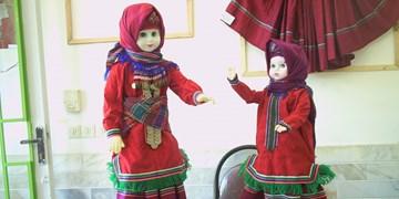 قدمت عروسکهای سنتی رامیان از  عروسکهای «ماتریوشکا» در مسکو بیشتر است