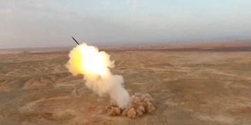 اولین تصاویر شلیک موشک بالستیک سپاه از اعماق زمین+فیلم