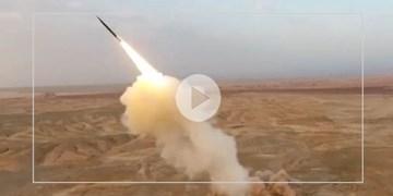 شلیک موشکهای بالستیک سپاه از زیر زمین