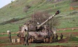 رژیم صهیونیستی سکوهای آتش متحرک در شمال سرزمینهای اشغالی مستقر کرد