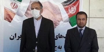 یک محموله کمکهای پزشکی ایران برای مبارزه با کرونا به کابل رسید