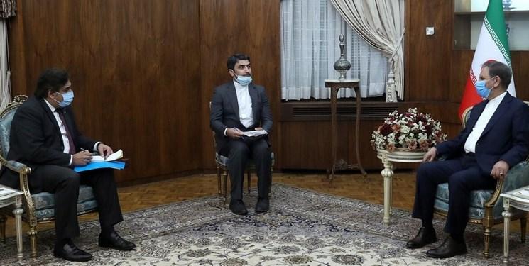 جهانگیری: دولت پاکستان با جدیت از اقدامات امنیتی علیه جمهوری اسلامی ایران جلوگیری کند