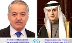 گفتوگوی مقامات ارشد تاجیکستان و عربستان؛ روابط محور رایزنی
