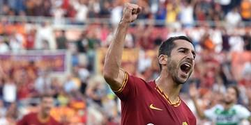 مخیتاریان: خوشحالم رم به لیگ اروپا رسید