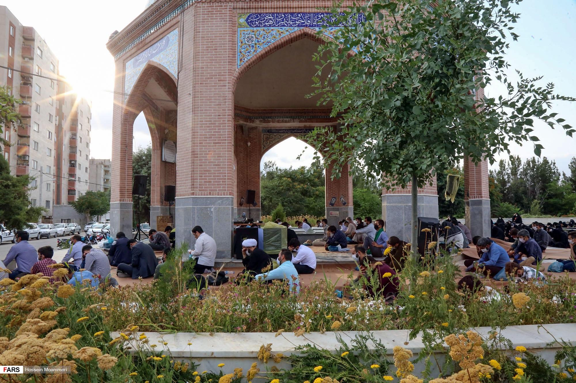 دعای عرفه در بجنورد