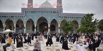 برگزاری مراسم دعای عرفه در گرگان