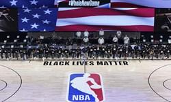 ادای احترام NBA به سیاهپوستان با یک حرکت جالب+عکس