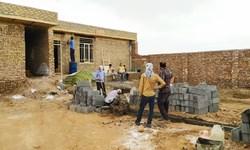 بازسازی ۵ واحد مسکونی در ملایر به همت گروههای جهادی
