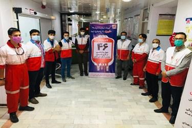 روز ملی اهدای خون در بوشهر به روایت تصویر