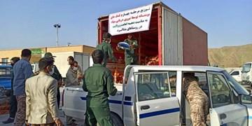 توزیع ۱۰۰۰ بسته غذایی در «بشاگرد»/ آغاز مرحله چهارم کمکهای مؤمنانه «سپاه» در مناطق محروم