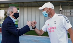 رئیس باشگاه رئال مادرید کرونا گرفت