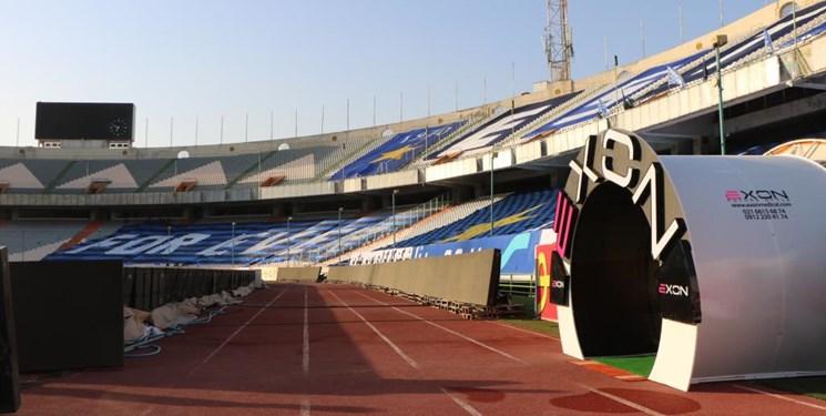 مجهزترین تونل ضدعفونی کشور در ورزشگاه آزادی به بهره برداری رسید