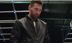 فیلم/حرکت زیبای مسی در کلیپ تبلیغاتی